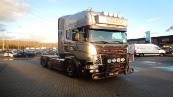 Scania V8 R730 Silver Griffin 041/100 - Weko