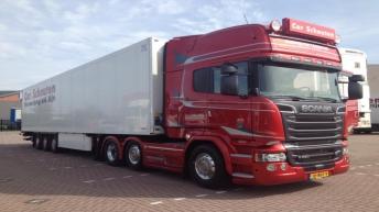 Scania R580 voor Cor Schouten