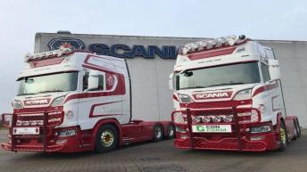 Scania S730 en S580 voor Nome Containerservice (DK)