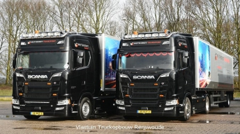 Scania S580 voor Methorst Transport