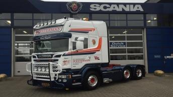 Scania R730 voor Westerman