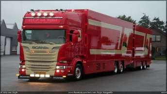Scania R580 combinatie voor H.C.P. v.d. Eijkel