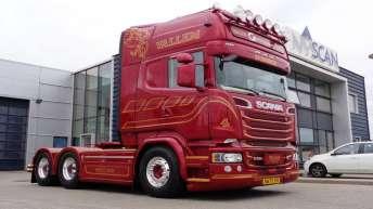 Scania R580 voor Danny Vallem (DK)