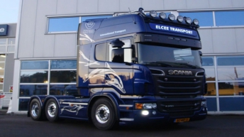 Scania R730 voor Elcee Transport