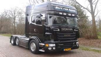 Scania R500 voor Bert van Egten