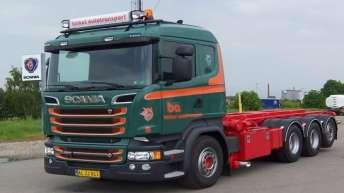 Scania R520 voor Birket Autotransport (DK)