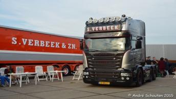 Scania R580 voor S. Verbeek