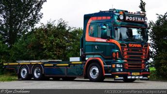 Scania R500 voor Postma Grijpskerk