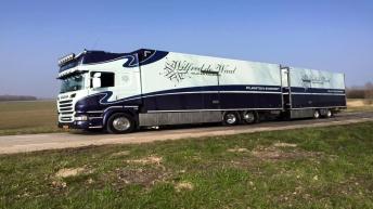 Scania R520 voor Wilfred de Waal