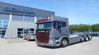 Scania R580 voor Arie Hoek