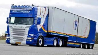 Scania R500 voor Riemersma