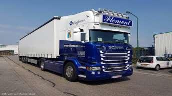 Scania R580 voor Flement & zoon (B)