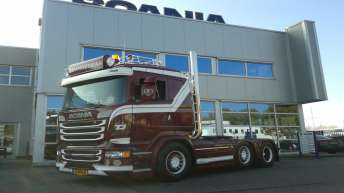 Scania R520 voor T. Dangerman
