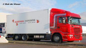 Twee Scania R620'ers voor Hartman Expeditie