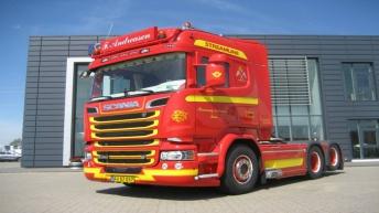 Scania R580 voor F. Andreasen (DK)