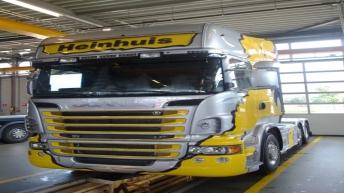 Scania R730 in opbouw voor Heinhuis