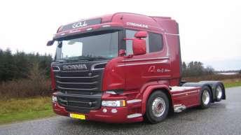 Scania R580 voor Kim G. Nielsen