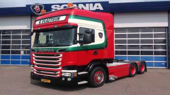 Scania R520 voor Vlastuin