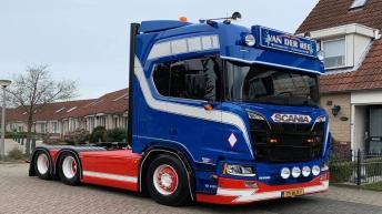 Nieuwe Scania R650 voor Van der Ree Transport