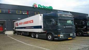 Scania R560 voor Ricardo Woudstra