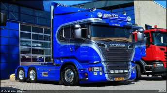 Scania R580 voor Quality Transport