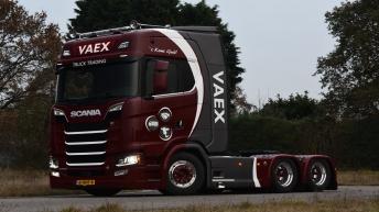 Scania S580 voor Vaex uit Reek