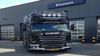 Scania R520 voor TSE