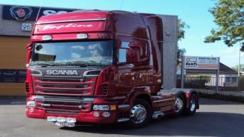 Scania R560 voor Defraeye Logistics (B)