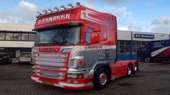 Scania R730 trekker voor S. Verbeek