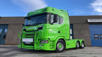 Scania S580 Nextgen voor Lindås Transport A/S (NO)