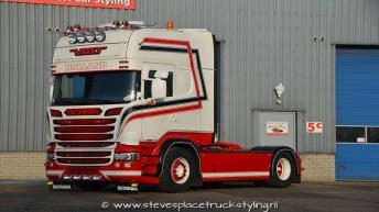 Scania R520 voor Van de Scheur Transport