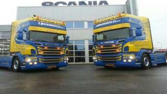Twee nieuwe Scania R500's voor Lindhold B.v.