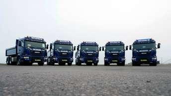 Scania V8 R580 (6x4) 5x voor Mindrum Transport uit Noorwegen
