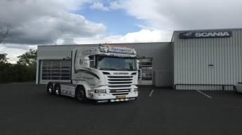 Scania R580 voor Jimmi Bjerregaard Rasmussen (DK)