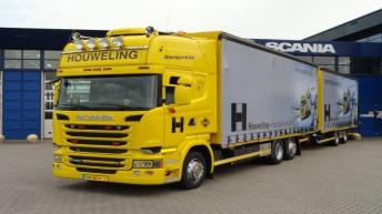 Scania R520 voor Houweling Transport