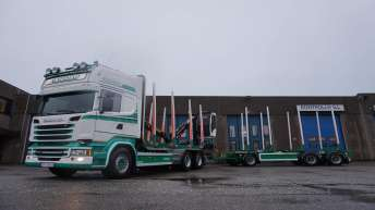 Scania R580 voor Austestad Transport As (N)