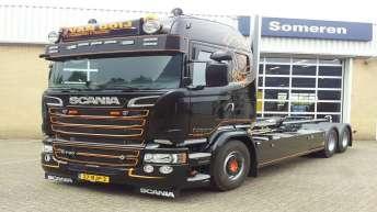 Scania R730 voor Van Ooij Transport & Trading