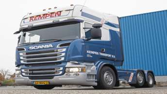 Scania R580 voor Kempen Transport