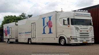 Nieuwe Scania S520 voor Gebr. K. en J. Heemskerk