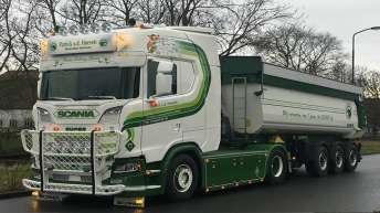 Update Scania S730 Patrick v/d Hoeven
