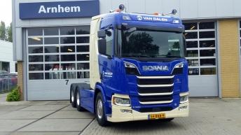 Scania R520 voor Van Dalen uit Huissen