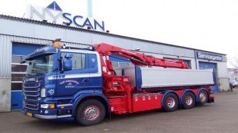 Scania R560 voor Vejby Cementstøberi (DK)