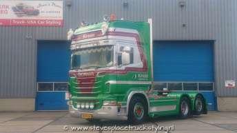 Scania R500 trekker voor Kroon Waarland