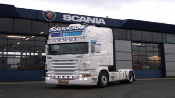 Scania R500 voor ABTrading & Transport