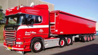 Scania R580 voor Soren O. Nielsen