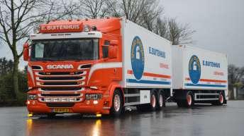 Scania R520 voor E. Buitenhuis