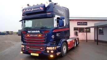 Scania R580 voor Brdr. Jensen