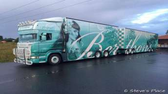 Scania R560 voor Berthon Jonsson (S)