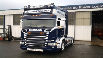 Scania R520 voor L. Danielou (F)