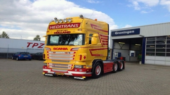 Scania R500 voor Heditrans